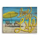 Click Wall Art Live The Life Textual Art Plaque