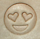 Discontinued Emojii Love Eyes Craftool 3-D Stamp Tandy Leather 8585-00