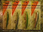 Bagley's Vingtage Bang O Lure 4 NOC H69T H79S 6C9 74 USA You Choose.