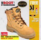 Oliver Work Boots, 55232z, Steel Toe Cap Safety, Side Zip,  FREE GIFT OPTION!