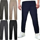 NEW MENS ELASTICATED WAIST TROUSERS CARGO COMBAT 2 IN 1 ZIP OFF PANTS BOTTOMS