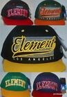 Element Hat NEW Mens STARTER CAP OAKLAND LA CHICAGO  Flat Brim Surf Skate1 size