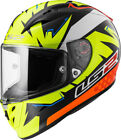 LS2 FF323 ARROW ISAAC VINALES REPLICA FULL FACE MOTORCYCLE RACE SPEC HELMET