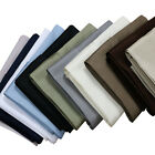 King-Size Pillowcases 300 Thread count Solid Cotton