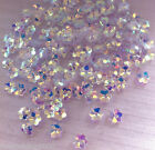 Sequins 5mm Diamond Sparkle Iris AB Translucent Tiny Flower Cup Choose Pack Size