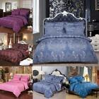 Vintage Flowers Single Double King Duvet Sets Quilt Cover Bedding Pillow Cases
