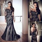 Sexy Women Formal Long Evening Party Cocktail Maxi Wedding Lace Prom Dress