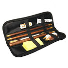 BISLEY POUCH SHOTGUN CLEANING KIT 12 20 GAUGE WOODEN ROD MOP BRUSH NEW