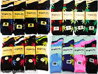 12 Pairs Mens Ladies Designer HIGH LIFE Leaf Cotton Rich Socks Adults Size 6-11