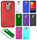 For LG K7 / Tribute 5 Rubberized HARD Protector Case Snap Phone Cover Accessory