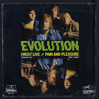 EVOLUTION: I Must Live / Pain And Pleasure 45 (Spain, PS w/ creases & wear)