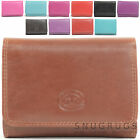 Ladies / Womens Soft Leather Handy Purse with Multiple Features