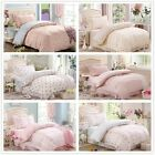 Dots&Floral Duvet Covers Single Size Bed Linen New Cotton Quilt/Doona Cover Set