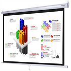 Instahibit™ Home Movie Manual/Tripod Pull Down Projector Projection Screen Size