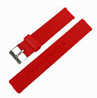 New Soft Rubber Silicone Watch Band Strap Replacement 18mm Watchband