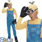 Boys Minion Kevin Costume Kids Despicable Me Fancy Dress Age 3-10 Years