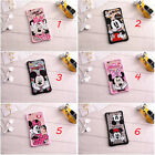 1X New Lover Funny Phone Cover Back Case For iPhone 6 6s Plus Cute Mickey Minnie