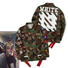 Camouflage Embroidery Badge Military Off White C/O Virgil Abloh 13 Jacket Coat