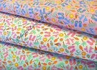 BEACH THEME FABRIC~BY THE YD~3 COLORS TO PICK~FLIP FLOPS~BATHING SUITS~SANTEE