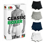 Fruit Of The Loom Mens 2 Pack Boxer Shorts Cotton Underwear Stretchy Sporty
