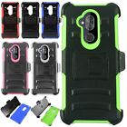 For Kyocera Hydro View HARD Astronoot Hybrid Rubber Silicone Case Phone Cover