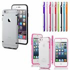 Apple iPhone 6 6S Plus SE 5 5S 4 4S Slim Skin Cover Thin Silicone Clear Case