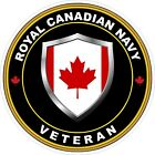 Royal Canadian Navy RCN Veteran Vet Decal / Sticker