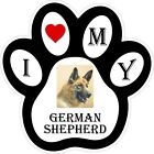 German Shepherd Dog Paw Decal / Sticker