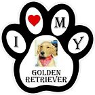 Golden Retriever Dog Paw Decal / Sticker