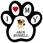 Jack Russell Dog Paw Decal / Sticker