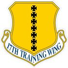 US Air Force USAF 17th Training Wing Decal / Sticker
