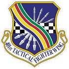 US Air Force USAF 401st Tactical Fighter Wing Decal / Sticker