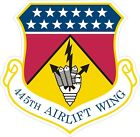 US Air Force USAF 445th Airlift Wing Decal / Sticker