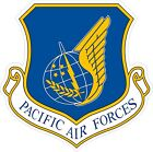 US Air Force USAFPacific Air Forces Decal / Sticker