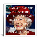 iCanvas Queen Elizabeth Quote Canvas Wall Art