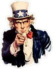 United States Uncle Sam image Decal / Sticker