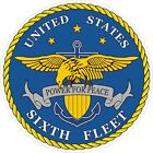 U.S. Navy 6th Fleet Decal / Sticker