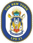 USS New York Decal / Sticker