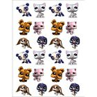 Aufkleber Sticker Kind Littlest Pet Shop Set