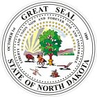 North Dakota State Seal Decals / Stickers