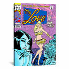 iCanvas Marvel Comics Book My Love Issue Cover #2 Graphic Art on Wrapped Canvas