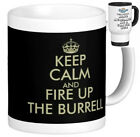 BURRELL (steam traction ploughing showmans engine) MUG keep calm style gift mugs