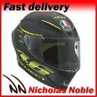 AGV PISTA GP PROJECT 46 2.0 Carbon Matt Black Yellow RACING MOTORCYCLE HELMET