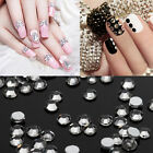 1440pcs Crystal AB /clear Flatback Rhinestone Woman's 3D Nail Ar DIY Decoration