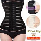 UK Slim Waist Tummy Girdle Belt Body Shaper Trainer Control Corset Gym Workout