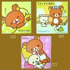 San-X RILAKKUMA Car Road Tax Disc License Holder Vacuum Decal Sticker
