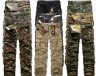 2016 New Men's Fashion Cargo Camo Combat Military Pants Waist/Casual Trousers