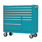 Heavy Duty Ball Bearing Tool Rolling 9 Drawer Cabinet Toolbox Chest Box Storage