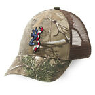 Browning Head Gear Baseball Caps Hat Denim Desert Camo Hunting Patriot Snow MeshHats & Headwear - 159035