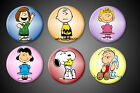 Peanuts Pin Magnet Charlie Brown Linus Snoopy Sally Lucy Peppermint Patty Pinbak